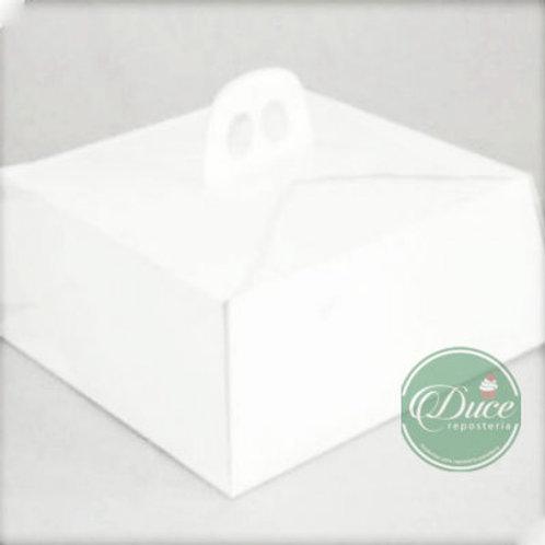 Caja Porta Torta Extra Blanco