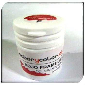 Colorante Polvo Rojo Frambuesa Sabor y Color.15 grs.