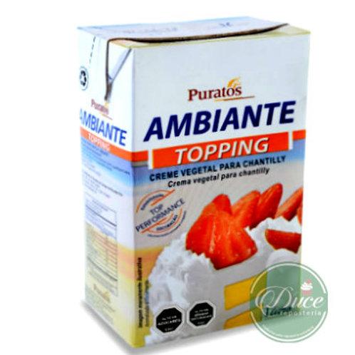 Crema Vegetal Ambiante Puratos, 12x1 Litro