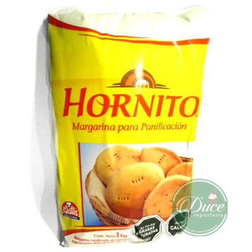Margarina Hornito Panificación Watts, 1 Kg.