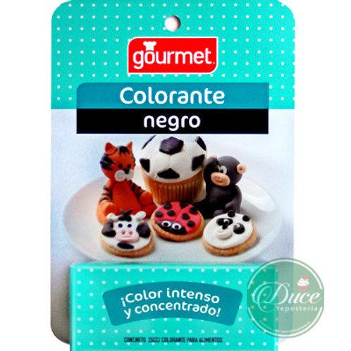 Colorante Gourmet Negro Líquido, 25 cc.
