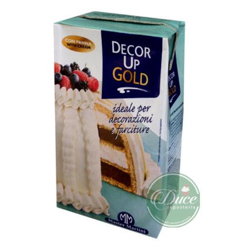 Crema Vegetal Decor Up Gold, 12x1 Litro