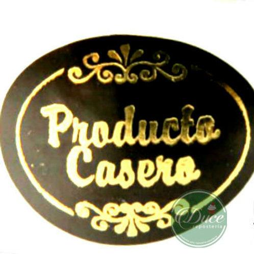 Etiqueta Productos Caseros
