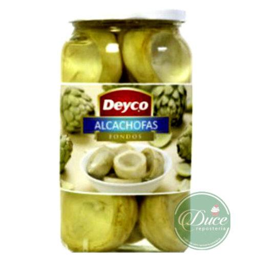 Conserva Alcachofa Fondo Deyco, 1 Kg.