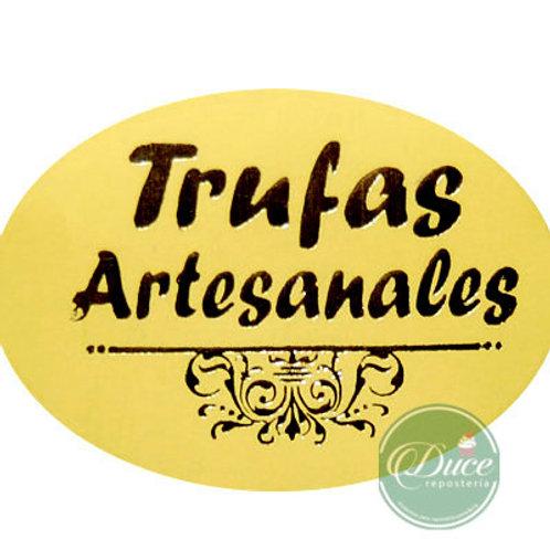Etiqueta Trufas Artesanales