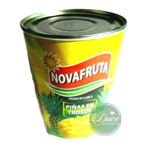 Conserva Piña Trocito Novafruta, 565 Grs.