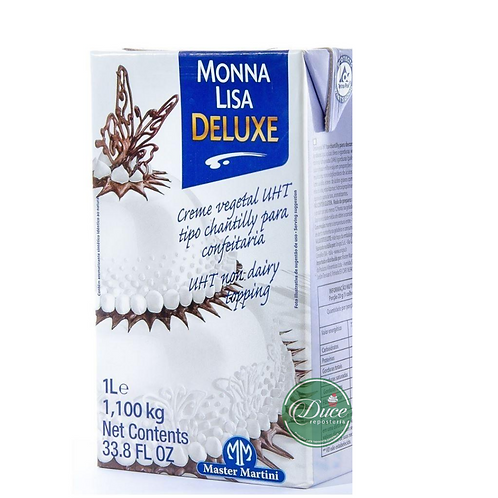 CREMA VEGETAL MONNALISA DELUXE 12X1LT