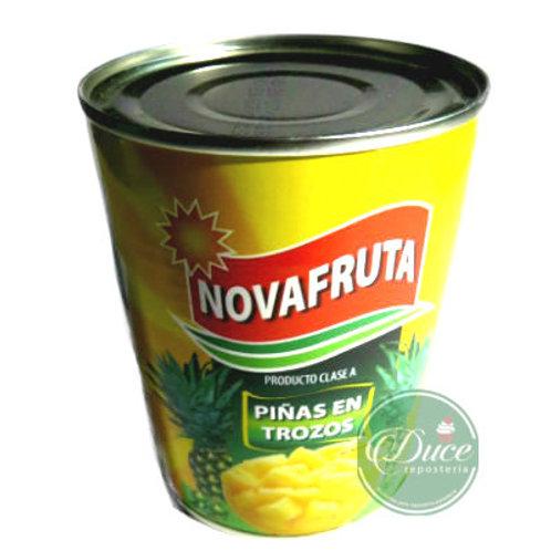 Conserva Piña Trocito Novafruta, 24x820 Gr.
