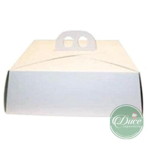 Porta Torta Grande Blanco
