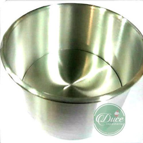 Molde Pan de Pascua Aluminio, 1 Kg.