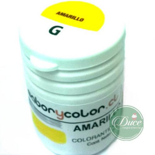 Colorante Gel Amarillo Sabor y Color, 20 grs.