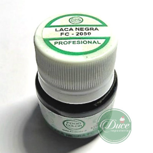 Laca Chocolate Negra Food Color, 20 grs.
