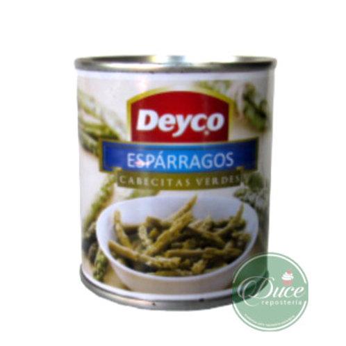 Conserva Espárragos Cabeza Verde Deyco, 230 Grs.