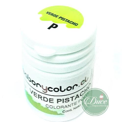 Colorante Polvo Verde Pistacho Guttche 15grs
