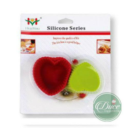Molde Silicona Corazón DA-3396