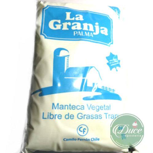 Manteca Vegetal La Granja, 1 Kg.