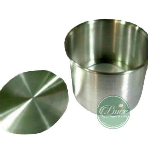 Molde Pan de Pascua Aluminio, 250 grs.JC