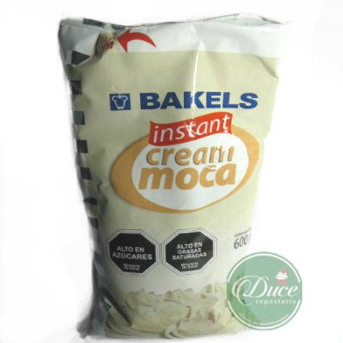 Crema Vegetal Instant Cream Moca Bakels 10x600 Gr