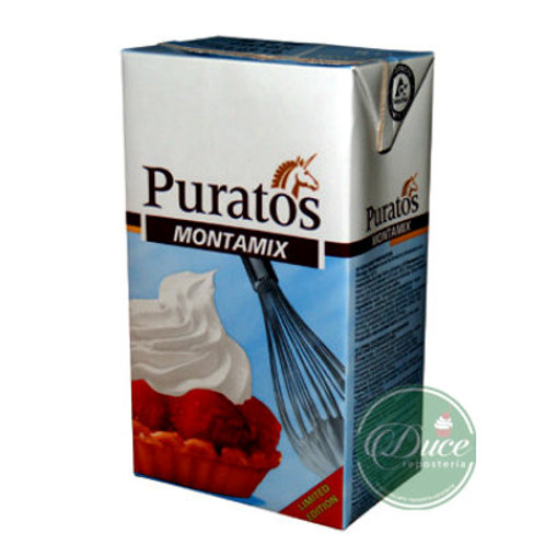 Crema Vegetal Montamix Puratos, 12x1 Lt.
