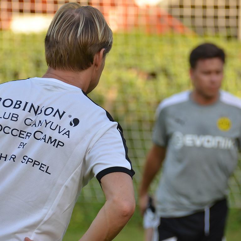 32. Soccer Camp by Lothar Sippel im Robinson Club Camyuva / Türkei