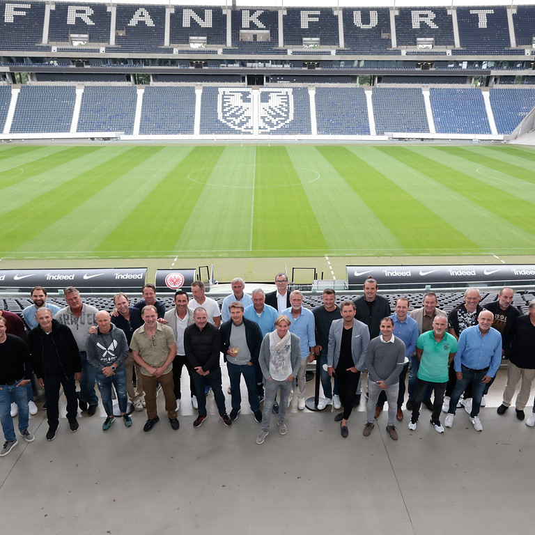 Eintracht Frankfurt Grillabend mit dem Vorstand & der Traditionsmannschaft