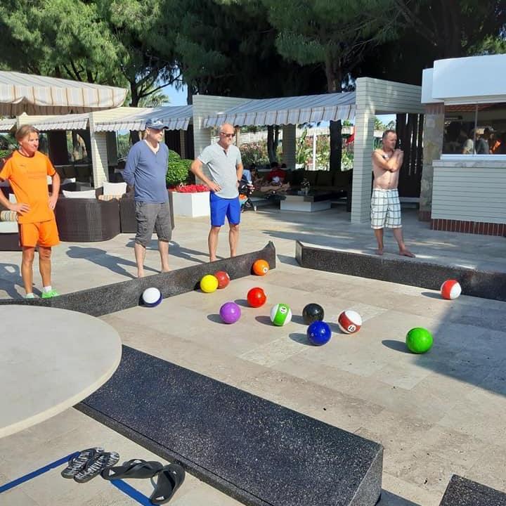 Billard Soccer by Lothar Sippel im Robinson Club Nobilis / Türkei für Erwachsene & Jugendliche