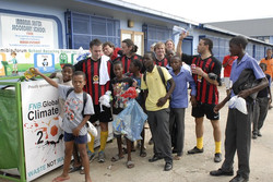 Climate Kick in Namibia mit Global United