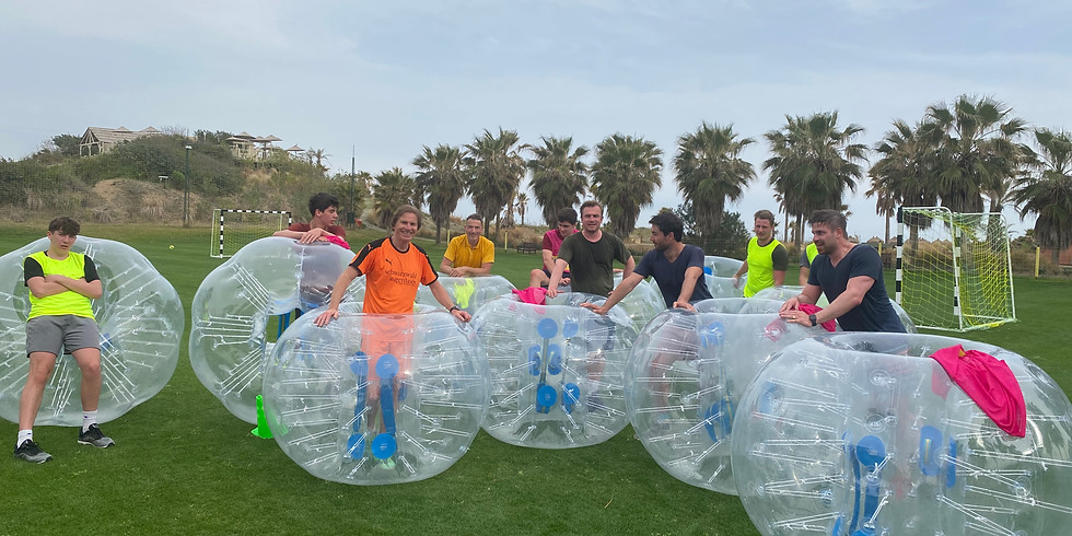 Bubble Soccer by Lothar Sippel im Robinson Club Nobilis / Türkei für Erwachsene & Jugendliche