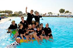 Wilde Kerle Soccer Camp im Robinson Club Kalimera Kriti, Kreta