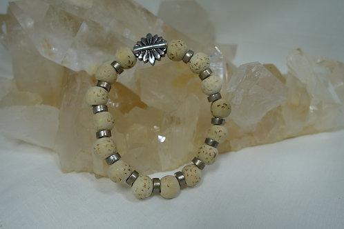 Bracelet Perle de Noisetier