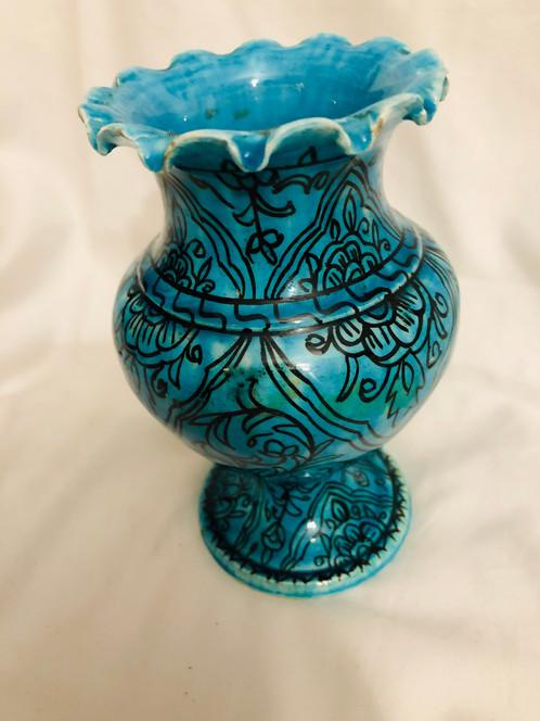 Teal Vase
