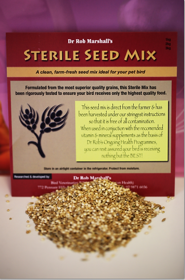 Sterile Seed Mix