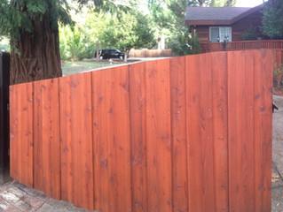 Custom Redwood Fences and Gates by Reuben Borg Fence - Pleasanton   San Ramon   Danville   Alamo