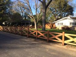 custom estate fence