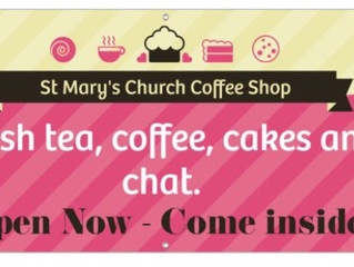 St Mary's Coffee Shop for                                         Mission Week
