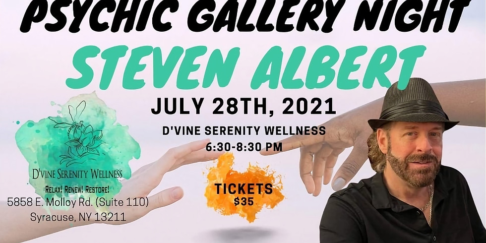 Psychic Gallery Night w/Steven Albert