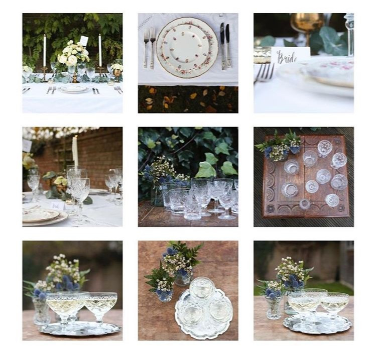 A Touch of Vintage Dinner Collection