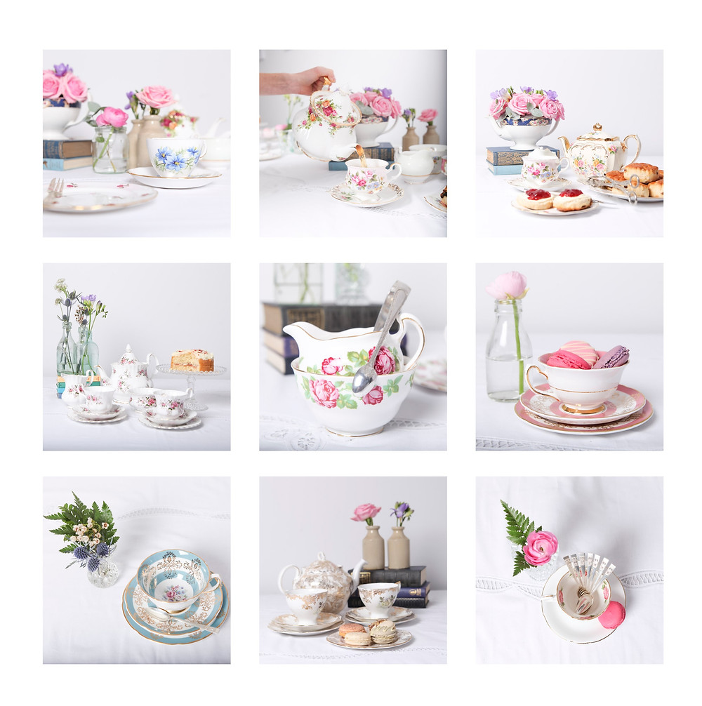 A Touch of Vintage Afternoon Tea Collection
