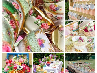 The inspiration behind the 'Vintage Teacup' package