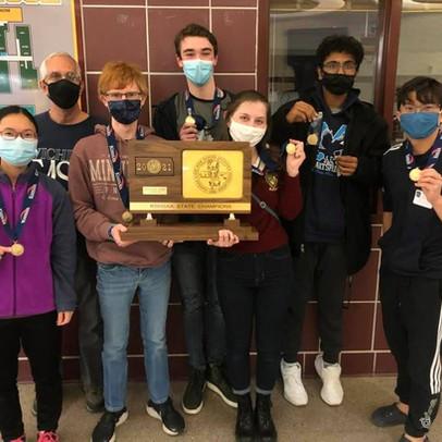 Scholars Bowl State Championship Win