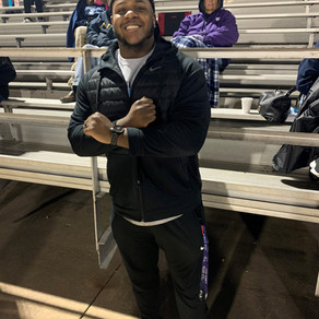 Blue Ace Alumni, NFL Player Returns to East