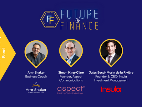 On Business & Entrepreneurship: Reflections on Future of Finance 2021 Conference