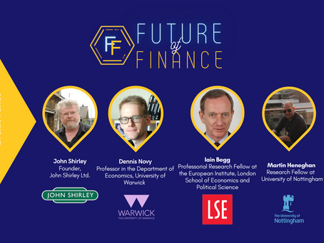 On Brexit: Reflections on Future of Finance 2021 Conference