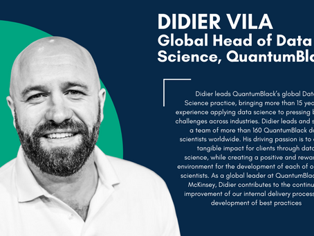 Interview with Didier Vila (Global Head of Data Science at QuantumBlack)