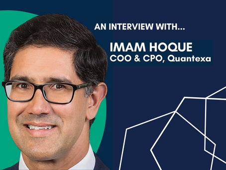 'Countries that are overprotective over data will fall behind': Imam Hoque (CPO and COO at Quantexa)
