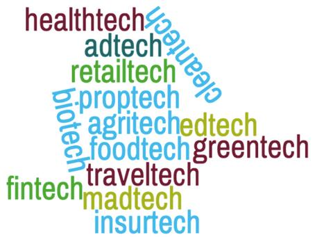 FinTech, MedTech, EdTech, RegTech and all the other terms ending in 'Tech'