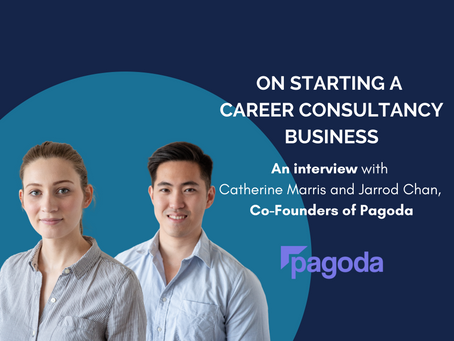 On Starting a Career Consultancy Company: Interview with the Co-Founders of Pagoda