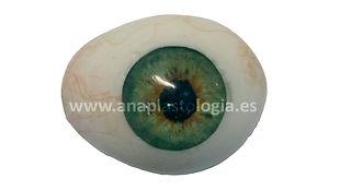 reconstrucción ojo mediante protesis