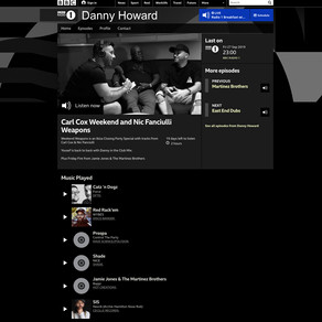 NEW EP WITH DANNY HOWARD ON BBC ONE