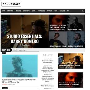 SOUNDSPACE Studio Essentials Harry Romero